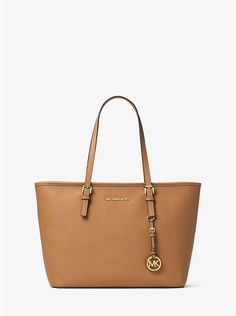 cc4c449ebe08 Jet Set Large Saffiano Leather Tote Bag