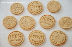 Medovo-škoricové pečiatkové keksíky | Angie