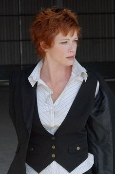 Lauren Holly as Director Shepard in NCIS