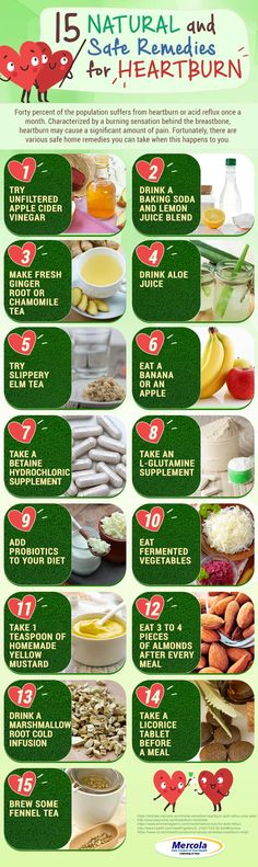 Infographic Of The Day: 15 Natural Home Remedies For The Treatment Of Heartburn, Acid Reflux And Ulcers Acid Reflux Cure, Acid Reflux Treatment, Treatment For Heartburn, Heartburn Causes, Natural Remedies For Heartburn, Natural Home Remedies, Best Smoothie, Smoothies, Smoothie