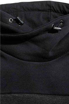 Camisola sweat gola chaminé   H&M