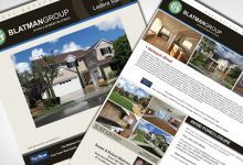 Listing Brochure for Blatman Group, Realtor Team servicing Orange County Area.