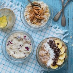 This is one brekkie that can be prepped in advance so that you can enjoy a bowl of grab and go gourmet oats the next day. Acai Bowl, Healthy Recipes, Breakfast, Food, Gourmet, Acai Berry Bowl, Morning Coffee, Essen, Healthy Eating Recipes