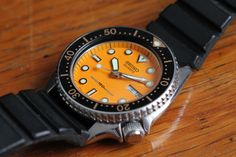 FS Seiko 6458-600A orange diver 1981