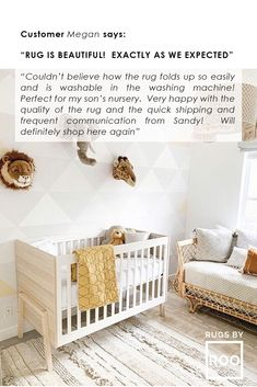 A baby's nursery that is fit for a king! This Features: cotton and all natural dyes, baby & kid safe, machine washable and sustainable. Lorena Canals Rugs, Washable Area Rugs, Blue Cushions, Animals For Kids, Handmade Rugs, Natural Materials, Dyes, Baby Kids, Kids Room
