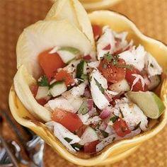 Mexican-style Crabmeat Salad Recipe | MyRecipes.com