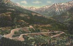 Million Dollar Highway - from Ouray to Silverton, Colorado