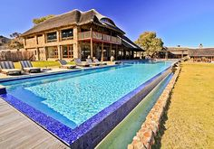 Go game viewing, relax in the pool, hike the trails, play putt-putt (min-golf) at the malaria-free Aquila Private Game Reserve.