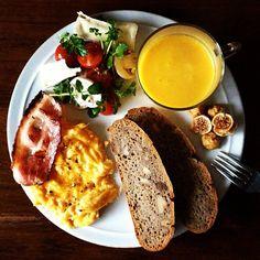 Today's breakfast. Pumpkin Soup かぼちゃのスープ - @keiyamazaki- #webstagram