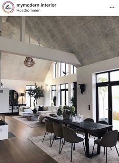 Loft Inspiration // Loft Interior The Perfect Scandinavian Style Home Home Living Room, Interior, House Styles, Home Decor, Scandinavian Style Home, House Interior, Home Deco, Home Interior Design, Loft Inspiration