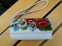 White Clutch Bags, Clutch Purse, Bridal Clutch, Wedding Clutch, Beads Clothes, Welcome To The Group, Floral Clutches, Beaded Clutch, Embroidered Bag