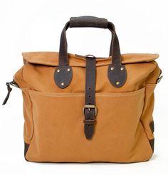 Canvas Messenger Bag Khaki | Free Shipping & Returns | UnitedByBlue
