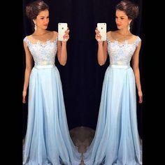 Pd10137 High Quality Prom Dress,Appliques Prom Dress,Chiffon Prom Dress: