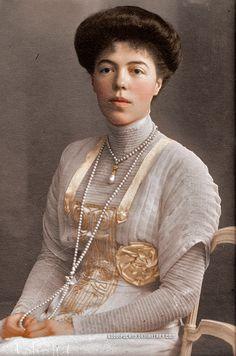 Grand Duchess Olga Alexandrovna Romanova of Russia, 1882-1960.