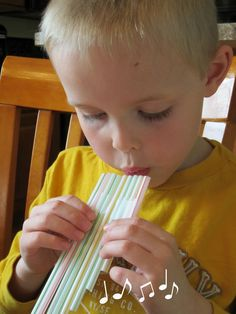 Maybe my kids are weird but both of them love using drinking straws. So we had all the supplies we needed on hand for this little craft – ...