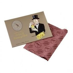 Town Talk Small Gold Polishing Cloth- 2.50 euro Engagement Ring Styles, Fashion Rings, Euro, Polish, Jewels, Diamond, Silver, Gold, Accessories