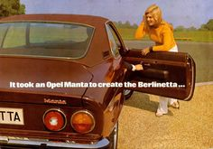1974 Opel Manta Berlinetta. | the marquis