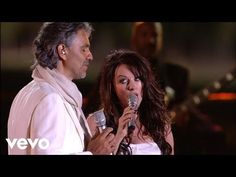 Sarah Brightman & Andrea Bocelli - Time to Say Goodbye (Con te partiro) - YouTube ❤❤❤   This song makes my heart soar