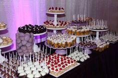 New Ideas Wedding Table Cake Mini Desserts Wedding Desserts, Mini Desserts, Dessert Recipes, Party Desserts, Candy Table, Candy Buffet, Catering, Desert Bar, Bar A Bonbon