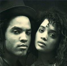 Lenny Kravitz & Lisa Bonet