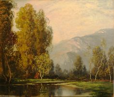 A D Greer enchants with this landscape, 25x30 Oil on Canvas