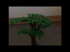 Lego Tutorial: Wie baue ich einen guten Baum ? - YouTube