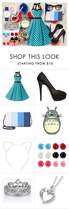 """Untitled #71"" by fashionqueen100-1 on Polyvore featuring Charlotte Olympia, Kate Spade, Chanel and Cara"