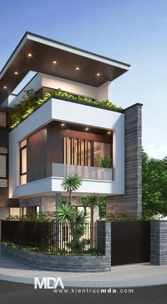 Tư vấn thiết kế kiến trúc nhà phố, biệt thự | MDA architects