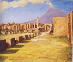 Vesuvius, From Pompeii - Winston Churchill