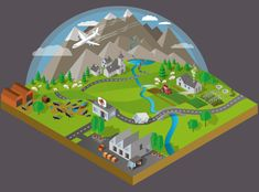 Isometric Illustration