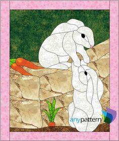 Bunny Love Applique | Craftsy