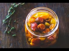 Savor summer longer with slow roasted tomatoes preserved in olive oil. Their flavor is amazingly deep, a wonderful addition to soups, pasta and bread.