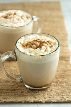 Homemade Pumpkin Spice Latte... So ready for pumpkin spice-flavored everything! This looks a little light in color for me, think I'd start with less milk...?