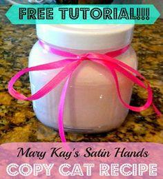 DIY Mary Kay's Satin Hands Copycat Recipe