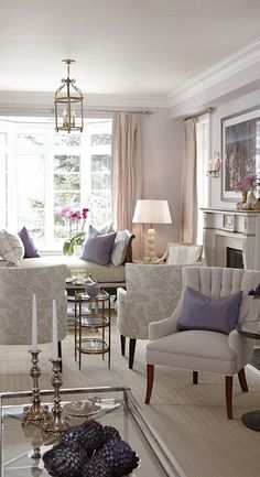 1000 ideas about lilac living rooms on pinterest Lilac living room ideas