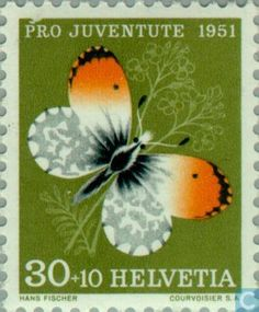 Timbres-poste - Suisse [CHE] - Papillons