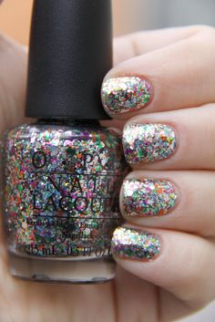 Rainbow Connection by OPI! Glitter glitter and more glitter! LOVE IT!!
