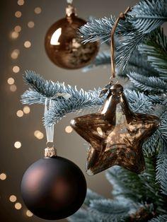 Hanging Copper Star Silhouette Rose GoldCopper And Black - Diy copper stars for christmas decor