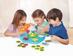 As the croc player turns over the playing cards one by one, keep an eye out for the hungry croc card! If you see it, jump quickly to avoid his snappy jaws. Family Games, Games For Kids, Activity Games, Activities, Frog Sitting, Player Card, Baby Gym, Preschool Toys, Get Healthy