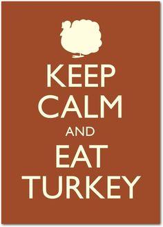 Turkey Propaganda - Happy Thanksgiving Greeting Cards from Treat.com