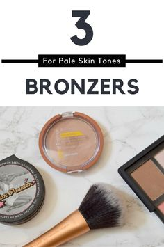 Want to give yourself a summer glow? Have pale skin & don't know how? What ever your budget I have an option for you in my 3 bronzers for pale skin post!