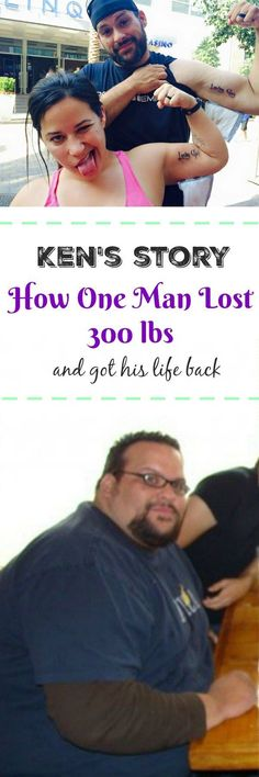 Ken's Story: How One Man Lost and Got His Life Back. Get motivated with this inspiring weight loss story with video. Weight Loss Goals, Easy Weight Loss, Weight Loss Motivation, Healthy Weight Loss, Motivation Quotes, Lose Weight At Home, How To Lose Weight Fast, Gym Workouts, At Home Workouts