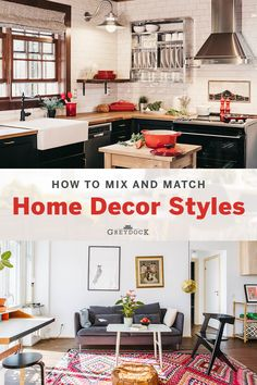 A benefit of mixing and matching décor styles in your home is that you create a truly unique space. No cookie cutter rooms here! You're able to show off your personality and decor style as much as you please. Read how to effortlessly mix and match interior design styles on our blog! #homedecor #interiordesign