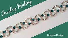 DIY Christmas Gift Ideas. Beading bracelet(necklace)-How to make beautif...