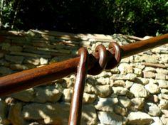 Ringhiera ferro forgiato arrugginito. www.ferro-battuto.net #ringhiera #balaustra