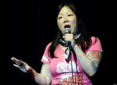 Margaret Cho, standing up