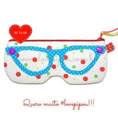 Será que você já viu um porta-óculos mais fofo do que esse? Na LovePipou, o Quattrocchi custa apenas R$ 35! Vem comprar!!!