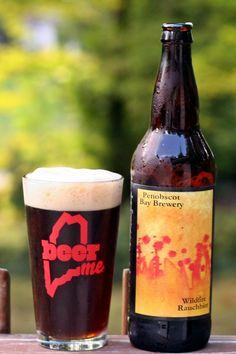 Penobscot Bay Brewery - Wildfire Rauchbier #BeerME
