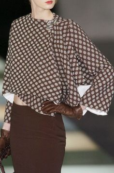**Armani in brown ~ dots