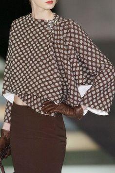 **Armani in brown ~ dots